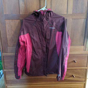 Columbia Women's Rain Jacket, size M